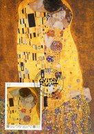 """France 3461 Fdc Gustav Klimt """" Le Baiser """" - Art"""