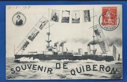 Souvenir De QUIBERON   écrite En 1908 - Quiberon