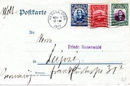 CARTE POSTALE 1911 - POSTEE A LA HAVANE - - Lettres & Documents