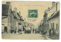 CPA 03 MOULINS SERIE P. PAQUET N°54 RUE DES GARCEAUX - Moulins