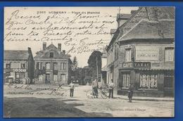 LUNERAY   Place Du Marché   Café Tabac        Animées    écrite En 1918 - Frankreich