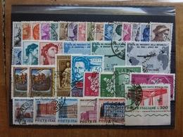 REPUBBLICA - 1961 Completo Timbrato + Spese Postali - 6. 1946-.. Repubblica