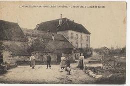 GONDENANS LES MOULINS  -  Centre Du Village Et Ecole - France