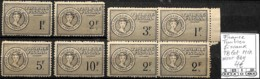 [849201]TB//MIX/MIX-France  - Timbres Fiscaux, TB Lot MIX Dont Bd4 - Revenue Stamps