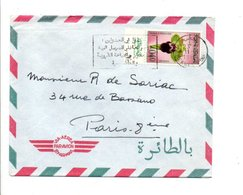 MAROC LETTRE AVION DE MEKNES POUR LA FRANCE 1960 - Marokko (1956-...)