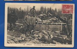 Enlevement Des Corps Allemands  à VERDUN - War 1914-18