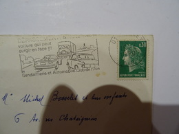 Lettre MARIANNE De CHEFFER  0.30 Vert 1970 TBE - 1961-....