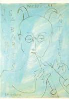 Art - Peinture - Barcelona - Museo Picasso - Calle Montcada - Jaime Sabartes Como Un Fauno - Voir Scans Recto-Verso - Peintures & Tableaux