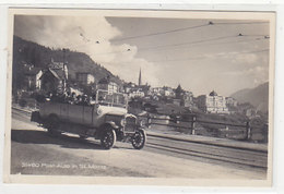 Offenes Postauto In St. Moritz - 1925     (P-231-90917) - Autobús & Autocar