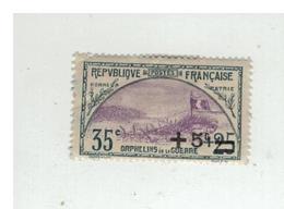 FRANCE TRANCHEE ET DRAPEAU ET LION DE BELFORT YT N°167 Et 168 - France