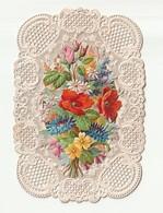 Canivet Chromo Découpi Fleurs Souvenir Communion   17 Juin 1873        Ge19 - Imágenes Religiosas