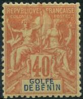Benin (1893) N 29 * (charniere) - Unused Stamps