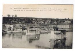 MEZIERES MOHON  LANCEMENT DU NOUVEAU PONT DU CHEMIN DE FER - Autres Communes