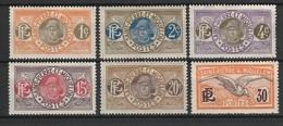 SAINT PIERRE ET MIQUELON 1909-17 YT N° 78, 79, 80, 82A, 83 Et 85 */** - St.Pierre & Miquelon