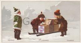 Huntley & Palmers - Fabricant De Biscuits - Advertise - Eschimaux - 135x70mm - Snoepgoed & Koekjes