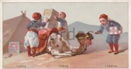 Huntley & Palmers - Fabricant De Biscuits - Advertise - Turkey - 135x70mm - Snoepgoed & Koekjes