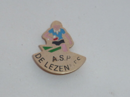Pin's PING PONG, A.S.P. DE LEZENNES - Tennis Tavolo