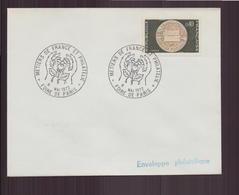 """France, Enveloppe Avec Cachet Commémoratif """" Métiers De France Et Philatélie """" Du 6 Mai 1972 Foire De Paris - Cachets Commémoratifs"""