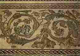 Art - Mosaique - Musée Des Beaux Arts De Nimes - Mosaique Des Noces D'Admète - Rinceau - Voir Scans Recto-Verso - Arts