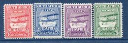 Afrique Du Sud - Poste Aérienne - N° 1 à 4 * - Neuf Avec Charnière - - Other
