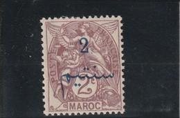 MAROC  Bureaux Français Timbre De 1902-03 Surchargé  N° 26 * - Unused Stamps