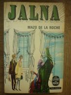 MAZO DE LA ROCHE: JALNA / Le Livre De Poche 1965 - Bücher, Zeitschriften, Comics