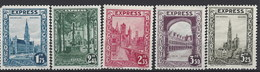 Belgica Express 1/5 (*) Sin Goma. 1929 - Unused Stamps