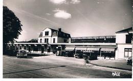 CPSM CHALONS Sur Marne La Gare Autos - Châlons-sur-Marne