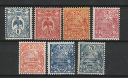 NOUVELLE CALEDONIE 1922-28 YT N° 114, 116, 117, 118, 119, 120 Et 123 ** - Nueva Caledonia