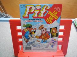 Pif Gadget N°1085 Avec Poster De Mylène Farmer + N°389 (aéroball Style Badminton), Sans Aucuns Gadgets......3C0420 - Pif Gadget