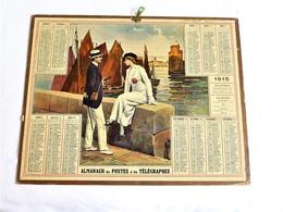 Almanach Des Postes Et Des Télégraphes 1915 - Grand Format : 1901-20