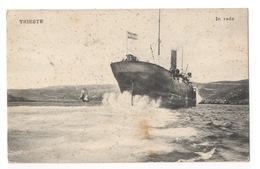 Cartolina-Postcard, Viaggiata (sent) - Trieste, In Rada - Trieste