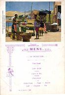 1 Menu C.M.B.Compagnie Maritime Belge KONGO Authentic Menu Card, 12.01.1921 Congo Boat ANVERSVILLE, 20cmX13,8cm - Congo Belge - Autres