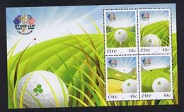 IRLANDA 2006 RYDER CUP  BF70  MNH - Unused Stamps
