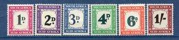 Afrique Du Sud - Taxe - N° 36 à 41 * - Neuf Avec Charnière - - Other