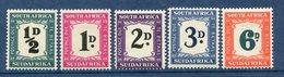 Afrique Du Sud - Taxe - N° 31 à 35 * - Neuf Avec Charnière - - Other