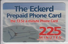 USA 2000 AT&T THE ECKERD PREPAID PHONE CARD WATCH - [3] Magnetic Cards