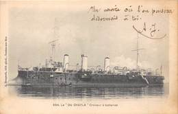 BATEAU- LE DU-CHAYLA- CROISEUR A BATTERIES - Warships