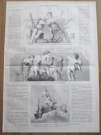 Gravure  1873 LA VILLA MASERE  Italie Italia  Villa Di Maser Villa Barbaro Vittoria Allesandro  Veronese Trevise Venise - Oude Documenten