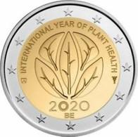 Belgie 2020  2 Euro Comm. UIT De CC Internationaal Jaar Van De Plantengezondheid - La Santé Des Végétaux  LIVRABLE  !! - Belgium