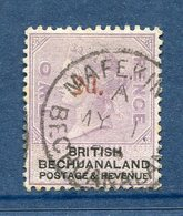 Bechuanaland - N° 25a - Oblitéré - Signé Brun - 1885-1895 Kronenkolonie