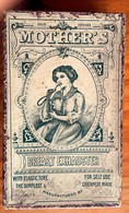 Boîte  Vide En Carton - XIXe -   MOTHER'S -BREAST EXHAUSTER -TIREUSE DE LAIT -BEBE ALLAITEMENT - Scatole
