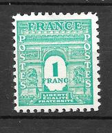 1944 -  France  / Série Arc De Triomphe 1° Série  / YT 624 / MNH** - Nuovi