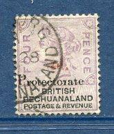 Bechuanaland - N° 26 - Oblitéré - RARE - 1885-1895 Kronenkolonie