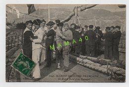 CPA DE 1912 - MARINE MILITAIRE FRANCAISE - LE BAL A BORD D'UN CUIRASSIER - Autres