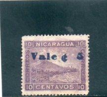 NICARAGUA 1904 O VARIETE' - Nicaragua