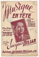 PARTITION  Jacques Helian MUSIQUE EN TETE - Noten & Partituren