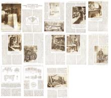 COMMENT ON FABRIQUE LES TONNEAUX En BOIS    1924 - Sciences & Technique
