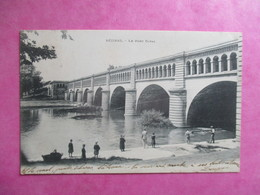CPA 34 BEZIERS LE PONT CANAL ANIMEE - Beziers
