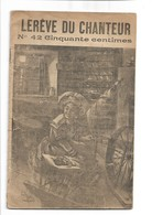 PARTITION      Le Reve Du Chanteur Carnet De 6 Titres De Chanson - Noten & Partituren